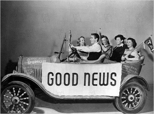 Good News : photo Charles Walters, June Allyson, Peter Lawford