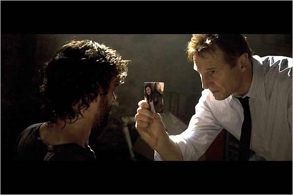 Taken : Photo Arben Bajraktaraj, Liam Neeson, Pierre Morel