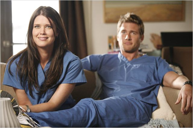 Chuck : photo Ryan McPartlin, Sarah Lancaster