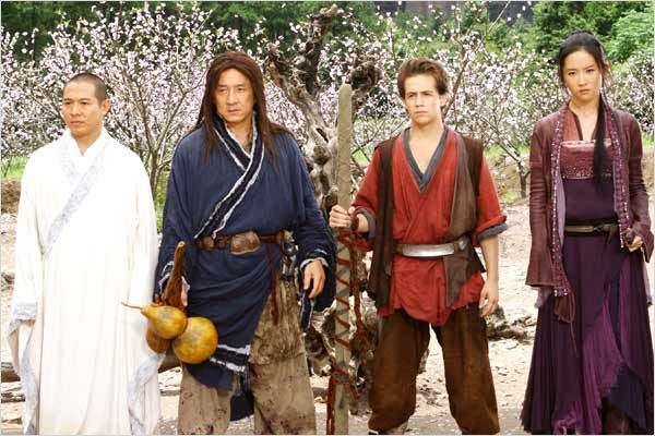 Le Royaume interdit : photo Jackie Chan, Jet Li, Michael Angarano, Rob Minkoff, Yifei Liu