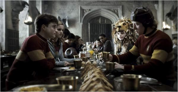 Harry Potter et le Prince de sang mêlé : Photo Daniel Radcliffe, Emma Watson, Evanna Lynch, J.K. Rowling, Rupert Grint