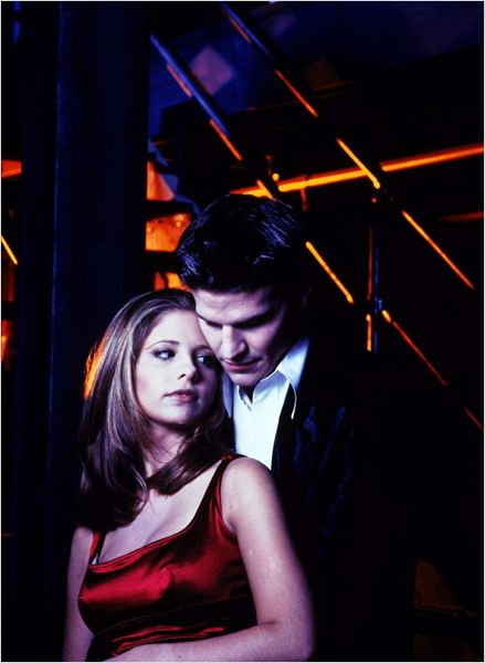 Buffy contre les vampires : photo David Boreanaz, Sarah Michelle Gellar