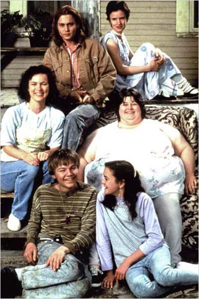 Gilbert Grape : Photo Darlene Cates, Johnny Depp, Juliette Lewis, Lasse Hallström, Laura Harrington