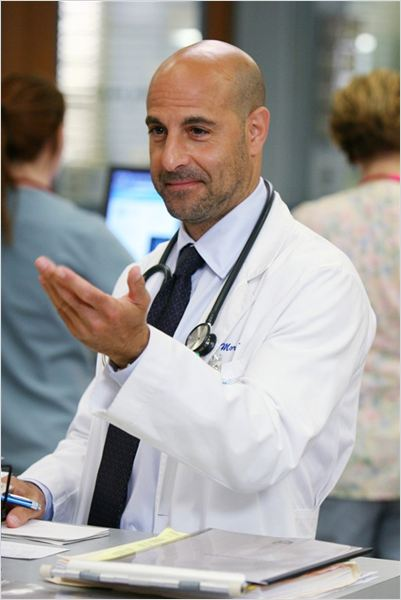 Urgences : photo Stanley Tucci