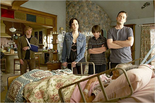 Weeds : Photo Alexander Gould, Hunter Parrish, Justin Kirk, Mary-Louise Parker