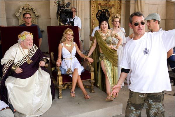 Histoires enchantées : Photo Adam Shankman, Lucy Lawless, Richard Griffiths, Teresa Palmer