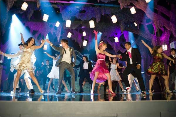 High School Musical 3 : nos années lycée : photo Ashley Tisdale, Kenny Ortega, Vanessa Hudgens, Zac Efron