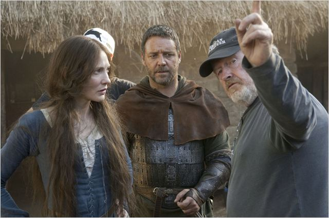 Robin des Bois : Photo Cate Blanchett, Ridley Scott, Russell Crowe
