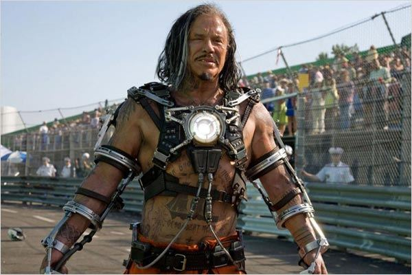 Iron Man 2 : photo Jon Favreau, Mickey Rourke