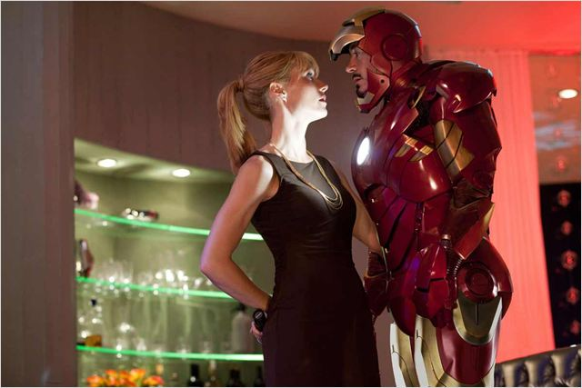 Iron Man 2 : Photo Gwyneth Paltrow, Jon Favreau, Robert Downey Jr.
