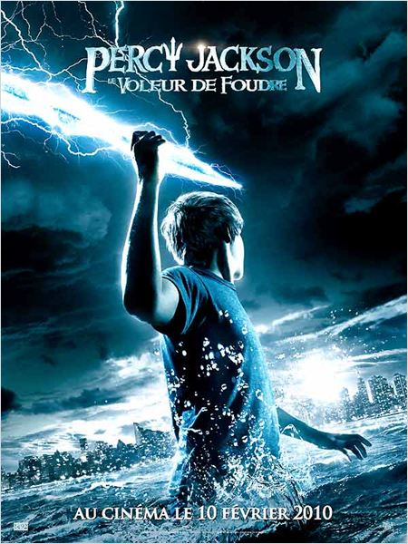 Percy Jackson le voleur de foudre : affiche Chris Columbus