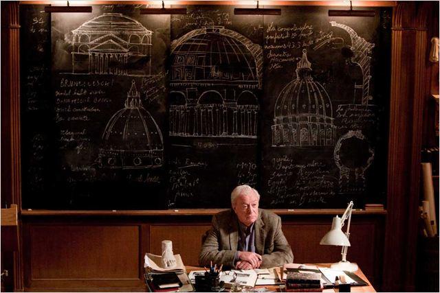Inception : Photo Christopher Nolan, Michael Caine