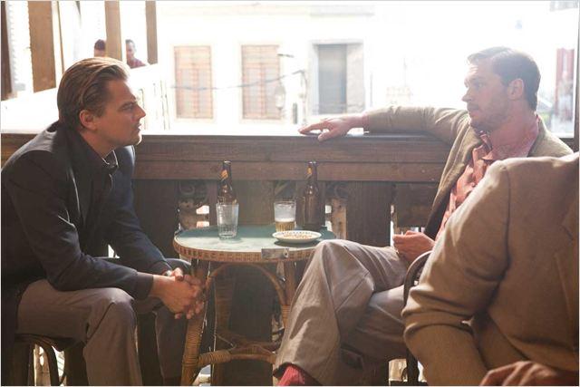 Inception : Photo Leonardo DiCaprio, Tom Hardy