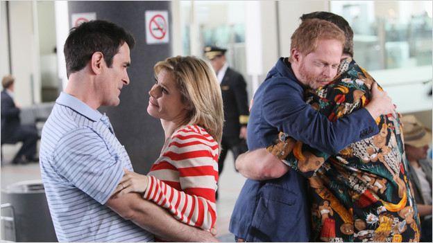 Modern Family : Photo Eric Stonestreet, Jesse Tyler Ferguson, Julie Bowen, Ty Burrell