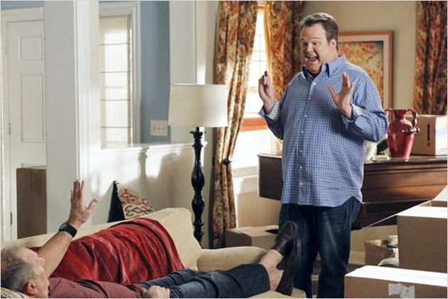 Modern Family : photo Ed O'Neill, Eric Stonestreet