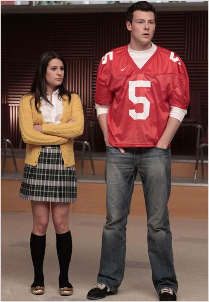 Glee : Photo Cory Monteith, Lea Michele