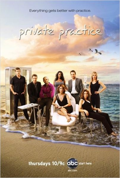 Private Practice : Photo Amy Brenneman, Audra McDonald, Chris Lowell, Kadee Strickland, Kate Walsh
