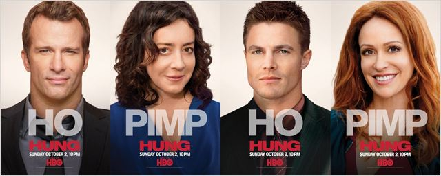 Hung : photo Jane Adams, Rebecca Creskoff, Stephen Amell, Thomas Jane