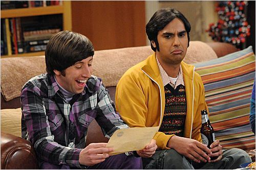 Photo Kunal Nayyar, Simon Helberg