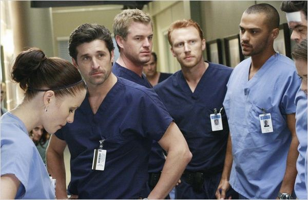 Grey's Anatomy : Photo Chyler Leigh, Eric Dane, Jesse Williams, Kevin McKidd, Patrick Dempsey