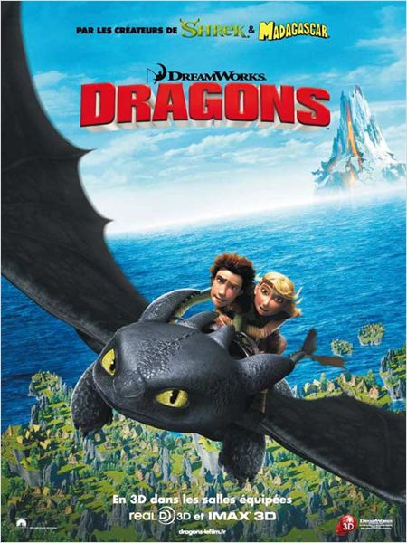 Dragons : affiche Chris Sanders, Den DeBlois