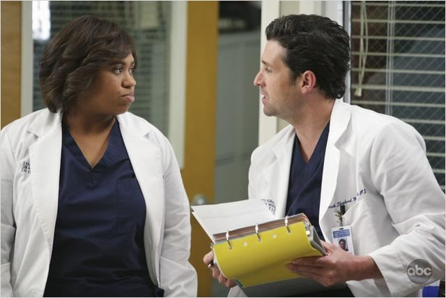 Grey&#39;s Anatomy : photo Chandra Wilson, Patrick Dempsey