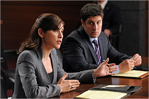 The Good Wife : photo Jason Biggs, Julianna Margulies