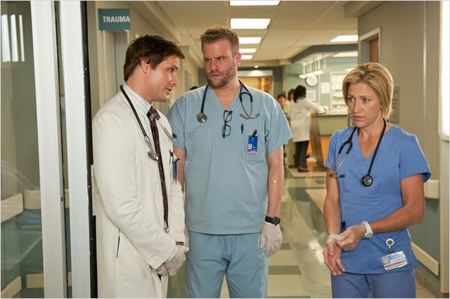 Nurse Jackie : photo Edie Falco, Peter Facinelli, Stephen Wallem