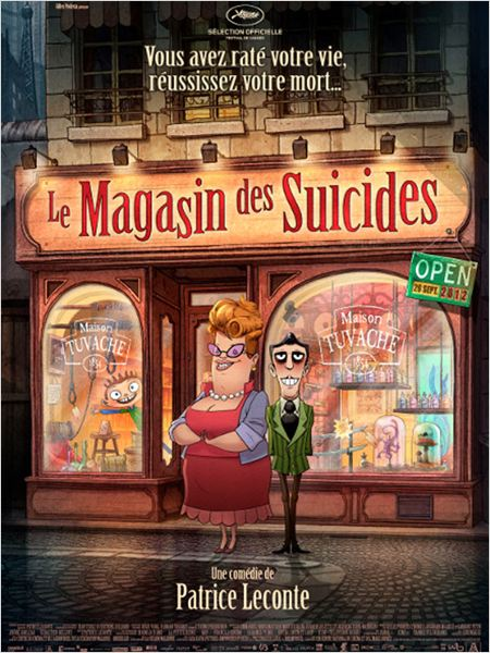 Le Magasin des suicides : affiche