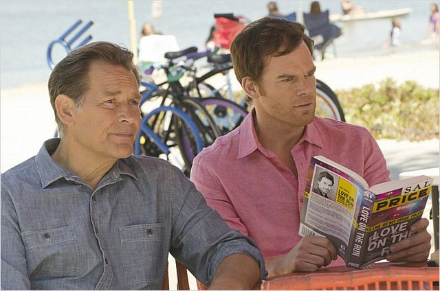 Photo James Remar, Michael C. Hall