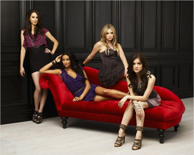 Pretty Little Liars : Photo Ashley Benson, Lucy Hale, Shay Mitchell, Troian Bellisario