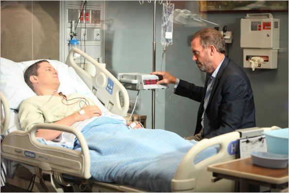 Dr House : photo Hugh Laurie, Wentworth Miller