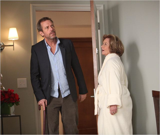 Photo Diane Baker, Hugh Laurie