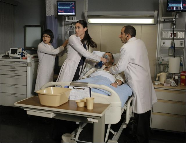 Dr House : photo Charlyne Yi, James LeGros, Odette Annable, Peter Jacobson