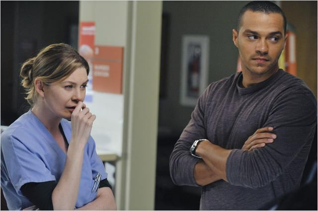 Grey&#39;s Anatomy : Photo Ellen Pompeo, Jesse Williams