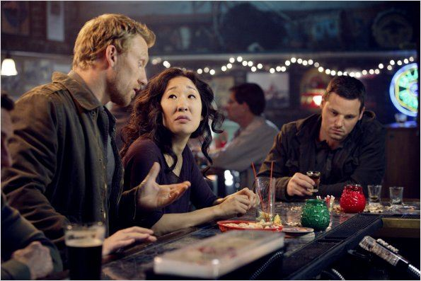 Grey's Anatomy : photo Justin Chambers, Kevin McKidd, Sandra Oh