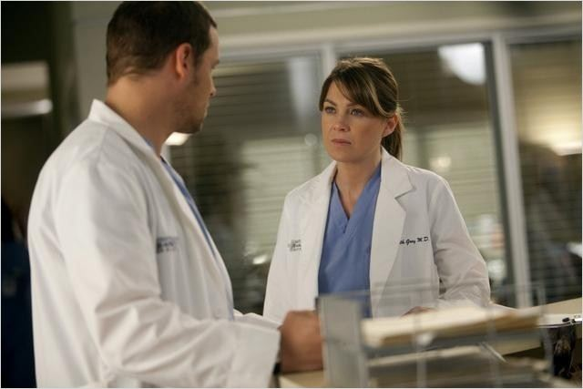 Grey&#39;s Anatomy : photo Ellen Pompeo, Justin Chambers