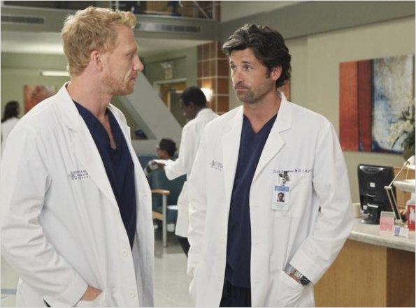 Grey's Anatomy : photo Kevin McKidd, Patrick Dempsey