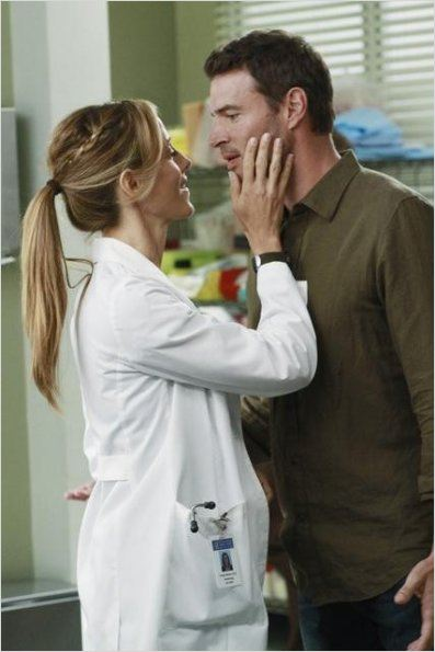 Grey's Anatomy : photo Jessica Capshaw, Scott Foley