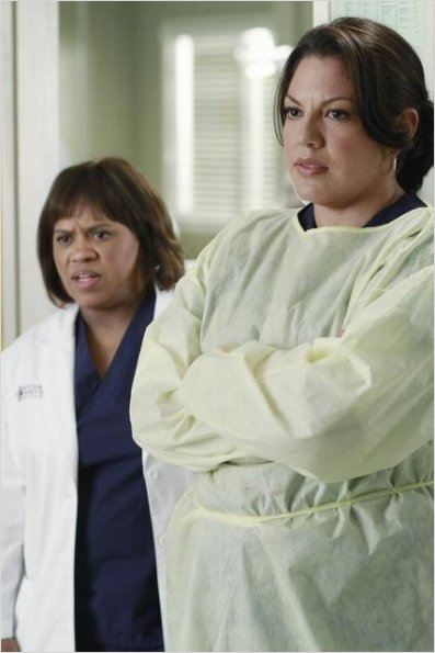 Grey&#39;s Anatomy : photo Chandra Wilson, Sara Ramirez