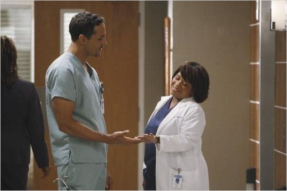 Grey's Anatomy : photo Chandra Wilson, Daniel Sunjata