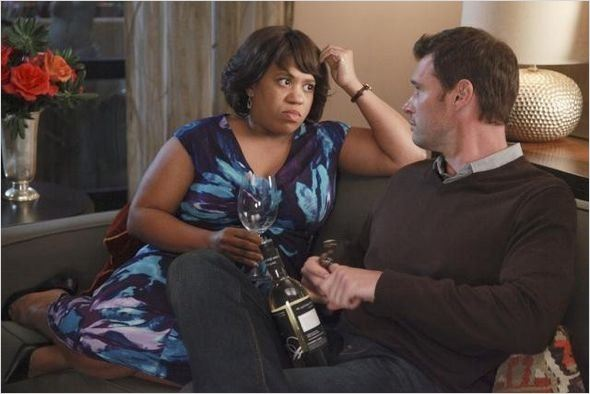 Grey's Anatomy : photo Chandra Wilson, Scott Foley
