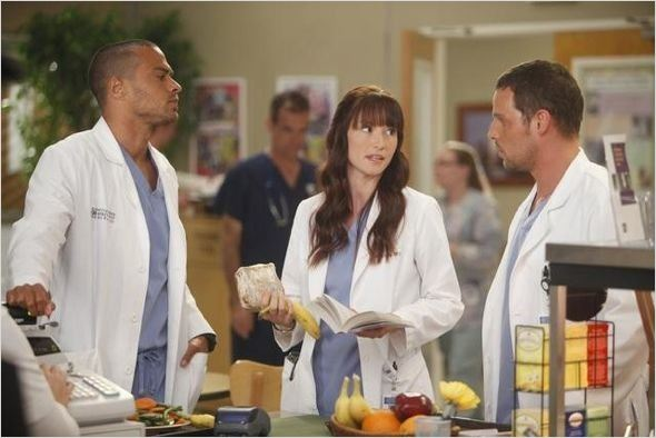 Photo Chyler Leigh, Jesse Williams, Justin Chambers