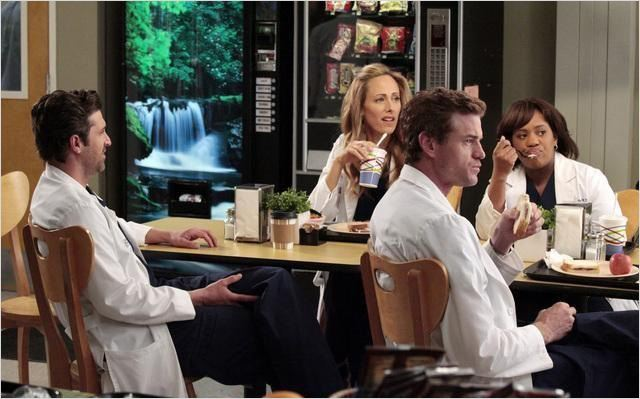 Grey's Anatomy : photo Chandra Wilson, Eric Dane, Kim Raver, Patrick Dempsey