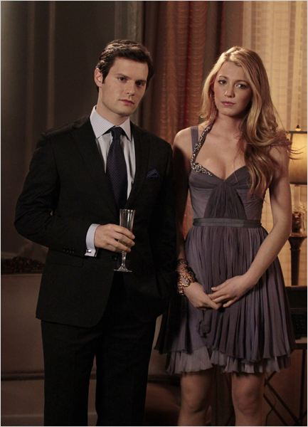 Gossip Girl : photo Blake Lively, Hugo Becker