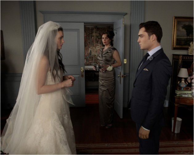 Gossip Girl : photo Ed Westwick, Leighton Meester, Margaret Colin