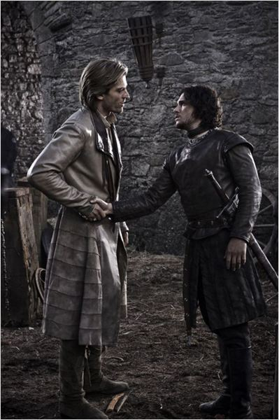 Game of Thrones : photo Kit Harington, Nikolaj Coster-Waldau