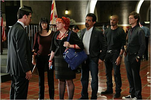 Esprits criminels : Photo Joe Mantegna, Kirsten Vangsness, Matthew Gray Gubler, Paget Brewster, Shemar Moore