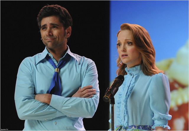 Photo Jayma Mays, John Stamos