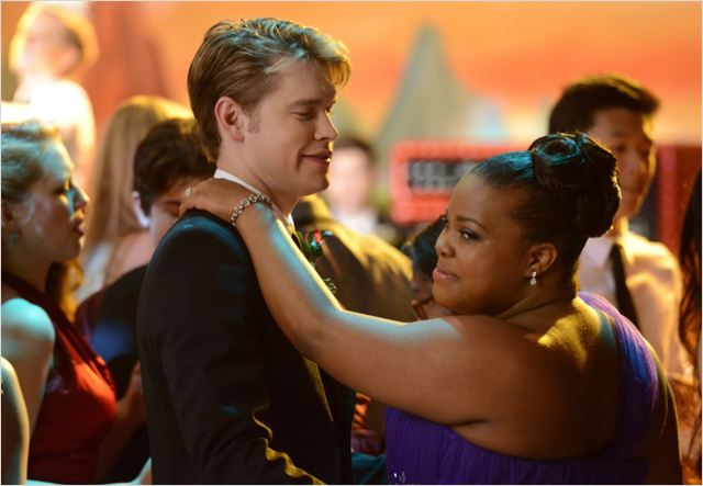 Photo Amber Riley, Chord Overstreet